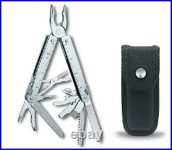 Victorinox Swiss Army SwissTool X Multi-Tool Stainless with Nylon Pouch