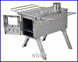 WINNERWELL NOMAD 1G S-Size Buschcraft Camping Cook Stove Stainless Steel New