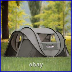 Waterproof Automatic 3 People Outdoor Instant Popup Tent Camping Hiking Canopy