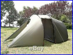 Waterproof Motorcycle Camping Tent for 2 Person Portable Biker Tent with Bedroom