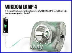 Wisdom Cap Lamp Model 4 (4A) Hard Hat Cordless Miners Light withAccessories