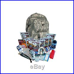 Wise Foods 01-601 CAMO Survival Backpack 2 Weeks Essential Camo