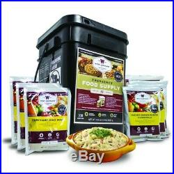 Wise Foods 60 Servings MRE Freeze Dried Food Rations 2 Meals per day for 30 days
