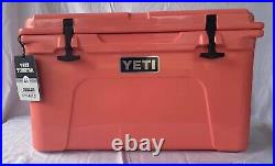 YETI Tundra 45 Coral Cooler Limited Edition Color NEW