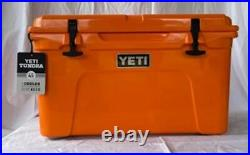 YETI Tundra 45 KING CRAB ORANGE Cooler Limited Edition Color NEW