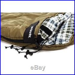 Zero Degree Sleeping Bag Cold Weather 2 Person Camping Hiking Outdoor Gear