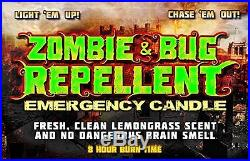 Zombie & Bug Repellant Emergency Candle